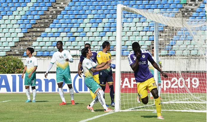 Omar lập hattrick, Hà Nội trả mối hận sòng phẳng với Yangon United