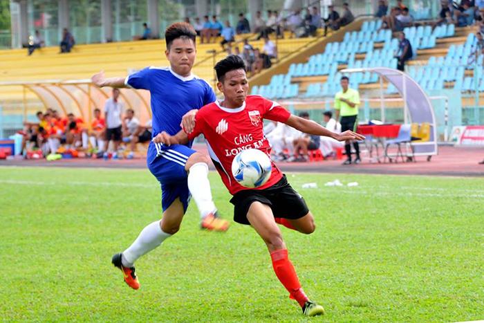 Hạng Nhì Long An bị Tiền Giang cầm hòa trong trận đấu có đến 6 bàn thắng