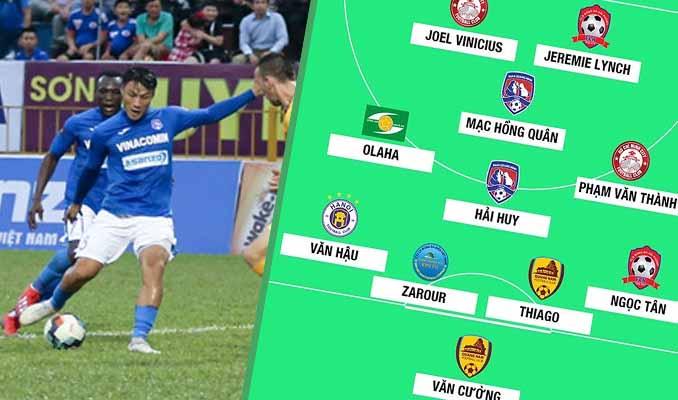 Đội hình tiêu biểu vòng 3 V-League: Sao Việt kiều toả sáng, Maldini ĐNA có tên