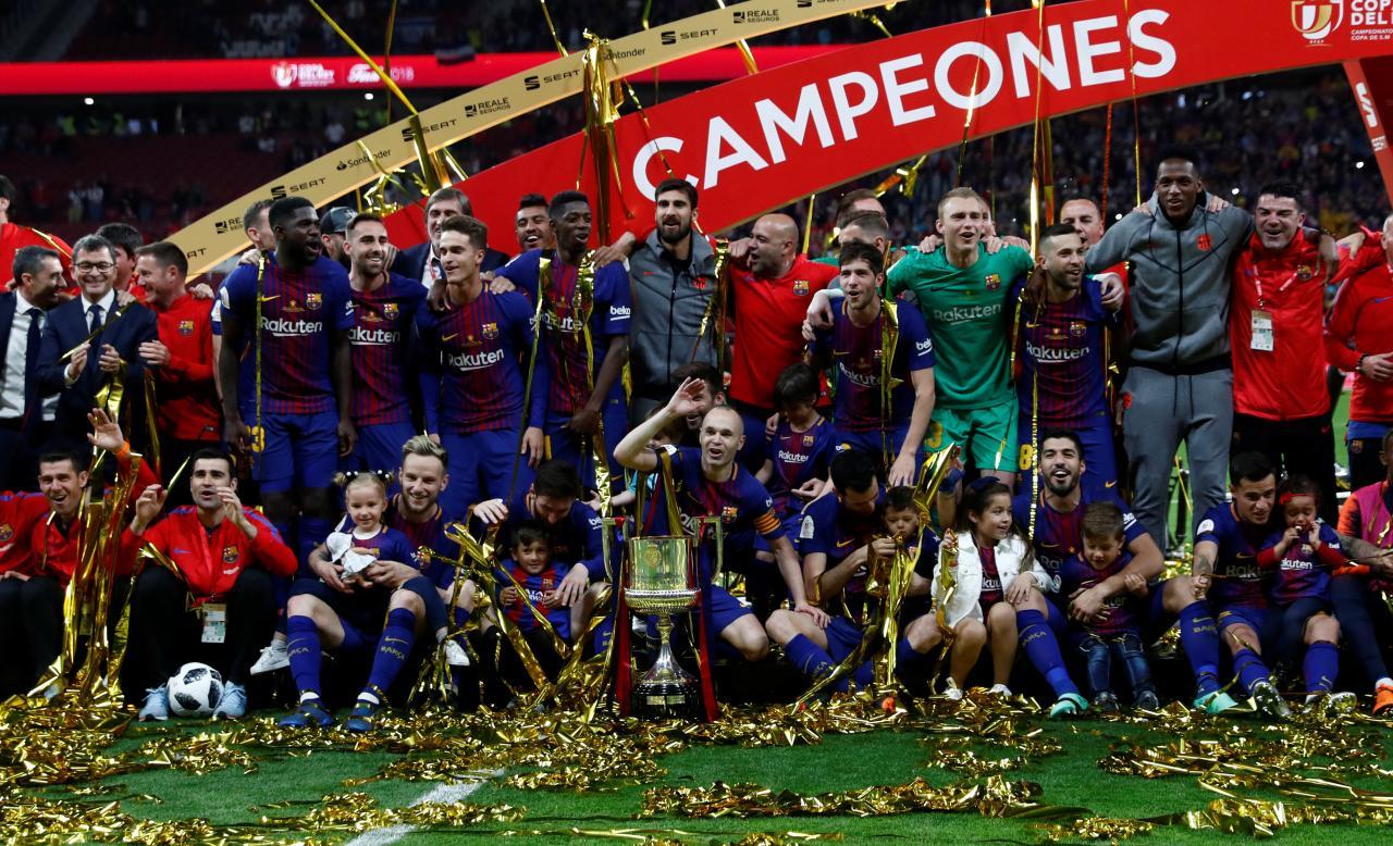 Hủy diệt Sevilla 5-0, Barca lên ngôi vương tại Madrid