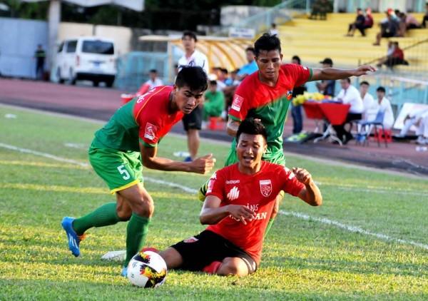 Highlights trận Long An 1-1 Bình Phước - Vòng 1 HNQG - 14/04/18