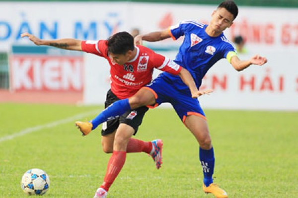 Vòng 12 V-League 2017: Long An vs Than Quảng Ninh