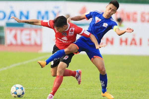 Vòng 12 V-League 2017: Long An vs Than Quảng Ninh